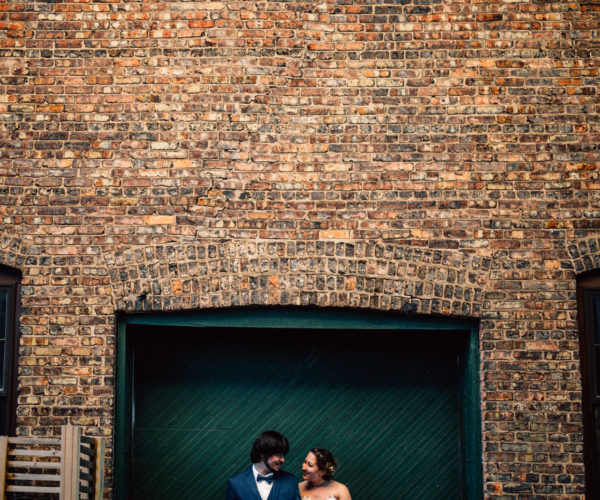 Intimate Lake Michigan Wedding